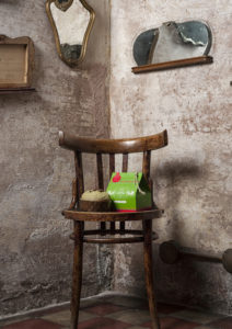 Pack mini bag new pack per formato mignon 200 gr + panettone pistacchio. Fotografia di Alessandro Castagna.